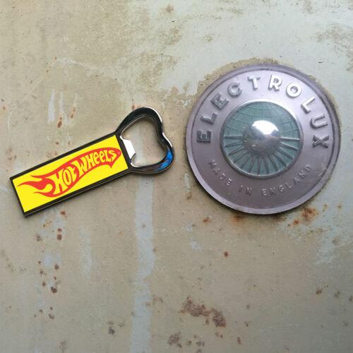 fridge magnet hotwheels bottle opener
