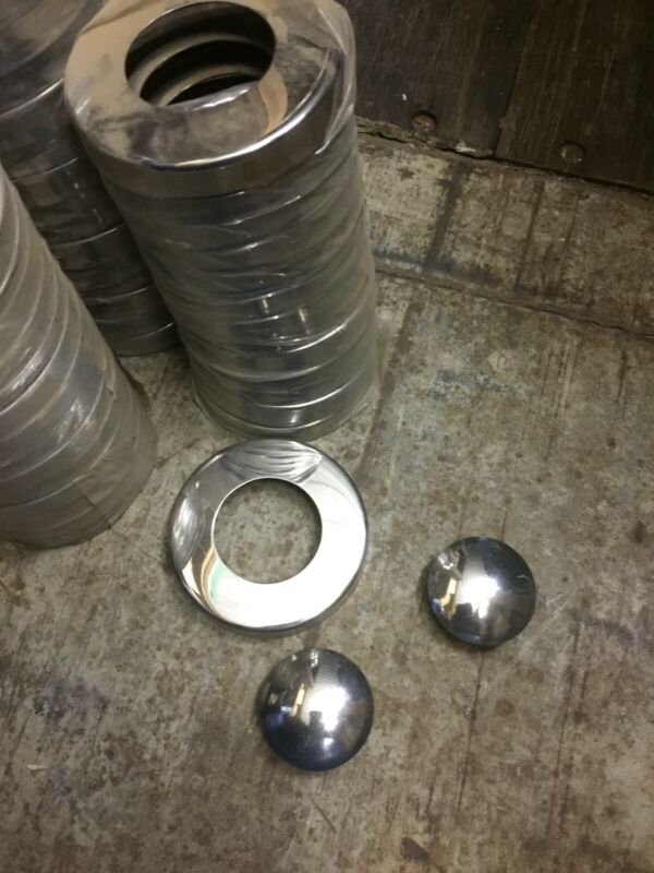 S/Steel base plates and end caps for balustrading