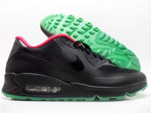 Details about NIKE AIR MAX 90 HYPERFUSE PREMIUM ID BLACKSOLAR RED SIZE MEN'S 11 [653603 991]