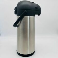 Cresimo Airpot Thermal Coffee Carafe And Server Stainless Steel 101 Oz 3l