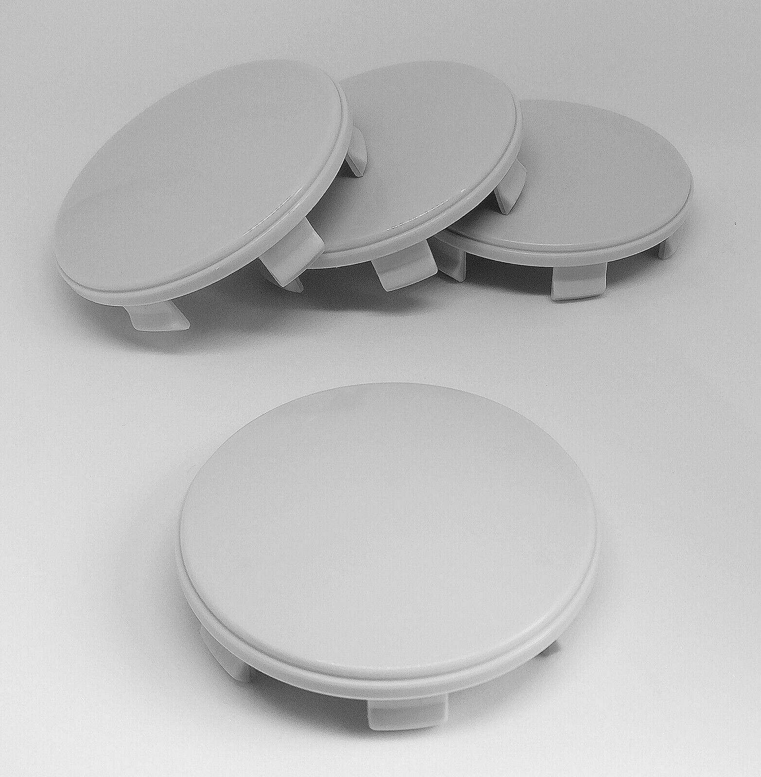 4X 60mm Nabenkappen Felgen Deckel Kappen Grau Gewölbt für Brock RC Design Platin