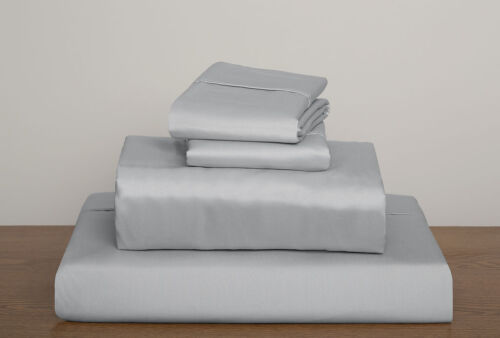 4pcs Bed Sheet Set Solid All Colors Sizes 1000 Thread Count 100 Egyptian Cotton