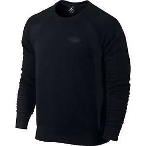 d9803d6fc902 Jordan Retro 1 Muscle Crew Men s Sweat Shirt Black 626662-010