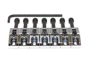 Graph Tech Floyd Rose String Saver Saddles, Chrome 7 pcs PG-0080-C7 NEW