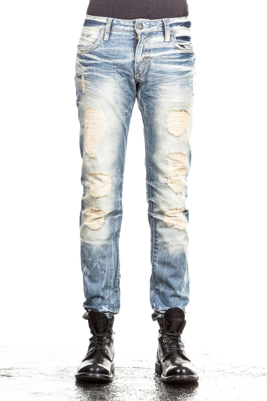 Robin`s Jean Herren Herren Herren Jeans MARLON SKINNY hellblau   Verwendet in der Haltbarkeit    Verrückter Preis, Birmingham  d75cb1