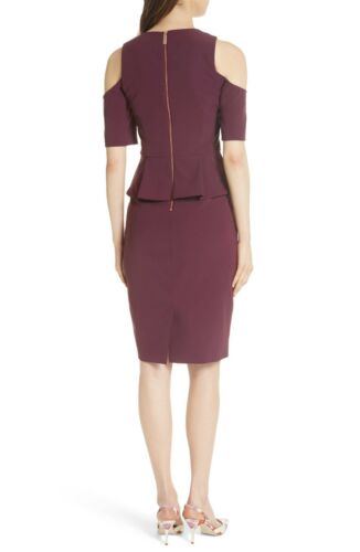 London Peplum Dress Pencil Ted Baker v8ONnm0w