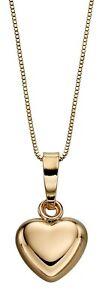 Collar-Colgante-de-Corazon-Oro-Amarillo-9ct