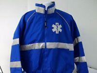All Weather Custom Printed Reflective Star Of Life Emt Ems Paramedic Jacket