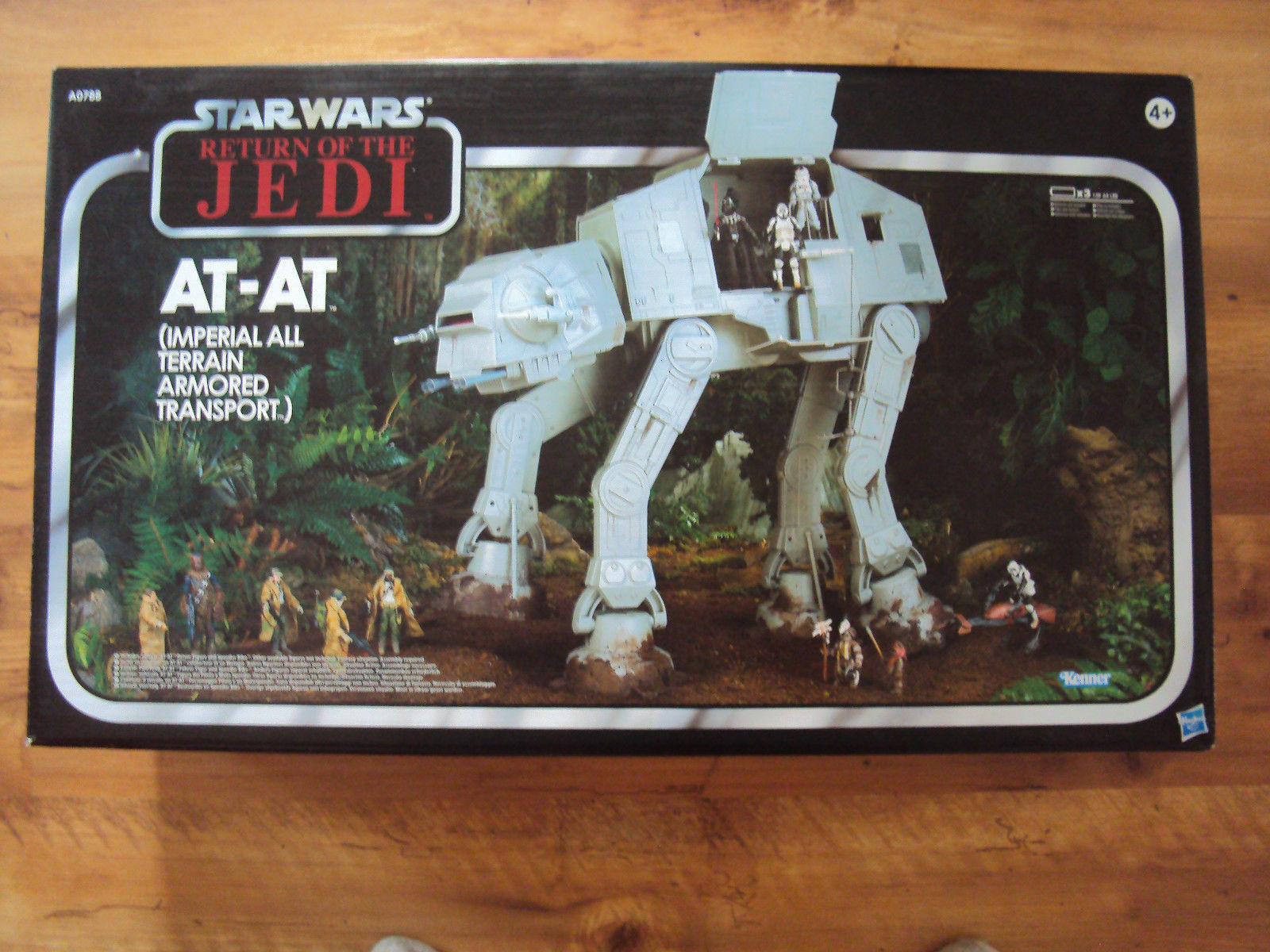 STAR WARS VINTAGE COLLECTION (TVC) : AT AT ENDOR RETURN OF THE JEDI (ROTJ) MINT