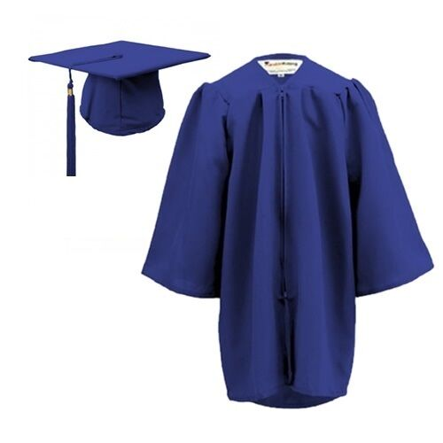 Blue Graduation Gowns