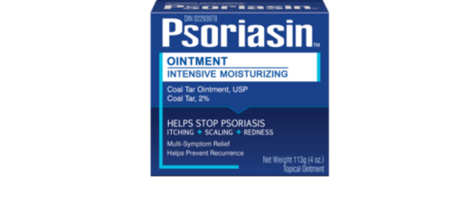 1 Psoriasin Coal Tar Topical Ointment 2% Relieve Psoriasis 113g Fast Shipping