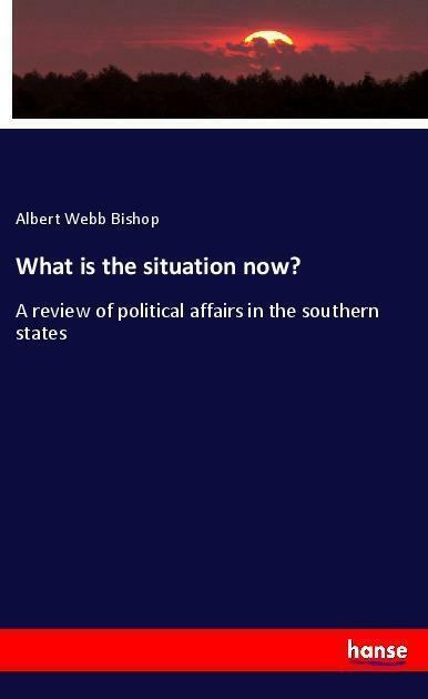 What is the situation now? von Albert Webb Bishop (Taschenbuch)