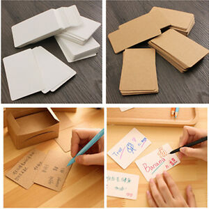 Wedding Gift Card Value : ... Blank-Kraft-Paper-Hang-Tags-Wedding-Party-Favor-Label-Price-Gift-Cards