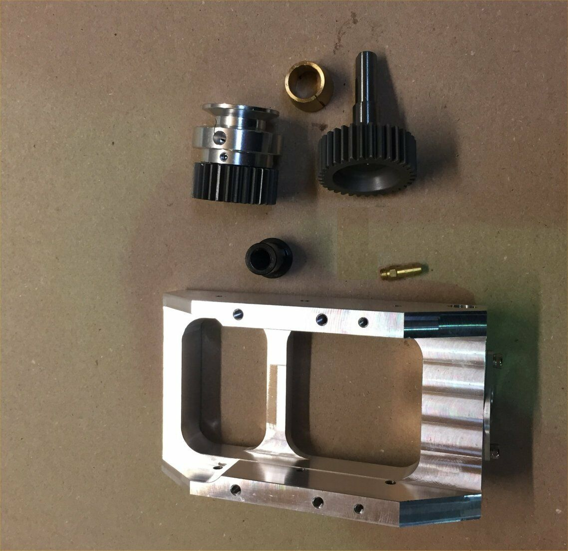 GEARBOX for CMB 91 RS  and RSEVO  FSRV imbra E15cc Steel gears