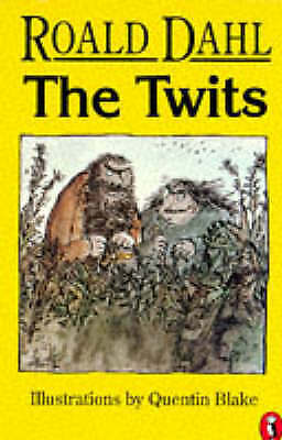 1 of 1 - The Twits by Roald Dahl (Paperback, 1987) vintage