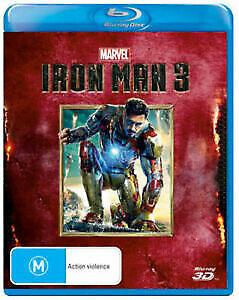 Iron Man 3 : NEW Blu-Ray 3D