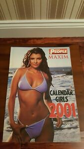 Kelly The Sun Page 3 >> Details About The Sunday People Rare Maxim Calendar Girls 2001 Ex Kelly Brook Sun Page 3 Girl