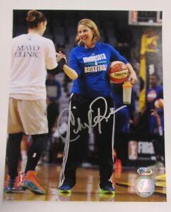 Cheryl-Reeve-Autographed-8x10-Photo-Minnesota-Lynx-WNBA-Champs-Signed-Head-Coach