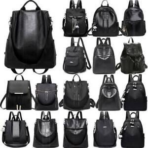 Damen Backpack Rucksack Schultertasche Ranzen Rucksäcke Anti Diebstahl