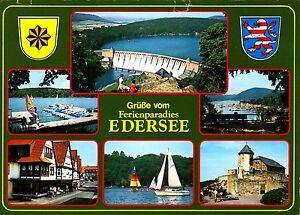 Grüße vom Ferienparadies Edersee , Ansichtskarte, gelaufen - Kiel, Deutschland - Grüße vom Ferienparadies Edersee , Ansichtskarte, gelaufen - Kiel, Deutschland