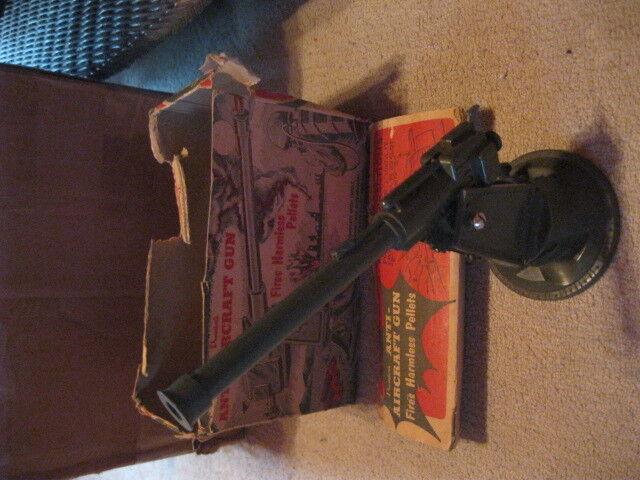 1950's PREMIER'S U.S. ARMY ANTI-AIRCRAFT GUN with Box