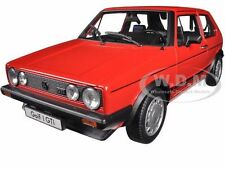 1983 VOLKSWAGEN GOLF 1 GTI RED 1/18 DIECAST MODEL CAR BY WELLY 18039