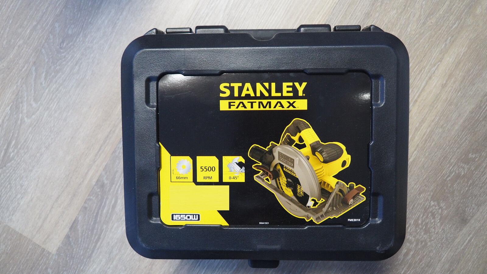 Stanley Fatmax 1.650 Watt Handkreissäge (FME301K)
