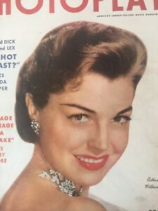 Vintage-Collectible-Movie-Magazine-Esther-Williams-Cover-January-1954