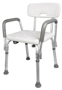 Medical Shower Chair Bathtub Stool Bench Bath Seat w/ Adjustable ...