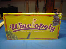 Wine-opoly Game of Cork Popping Fun Board Game New Factory Sealed