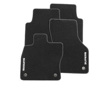SKODA SUPERB 2016/>/> ** BRAND NEW /& GENUINE**SET OF STANDARD TEXTILE FLOOR MATS