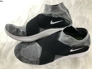 74765afb34a34 Nike Free RN Motion FK 2017 11.5 Oreo Run Natural Flyknit 880845-001 ...