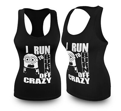 Ladies workout Gym Top Running Racerback Vest Womens Workout Tank Funny Gift