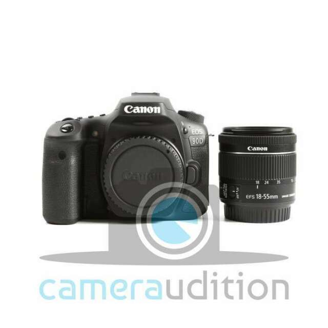 Genuino Canon EOS 90D Digital SLR Camera + EF-S 18-55mm f/3.5-5.6 IS STM Lens