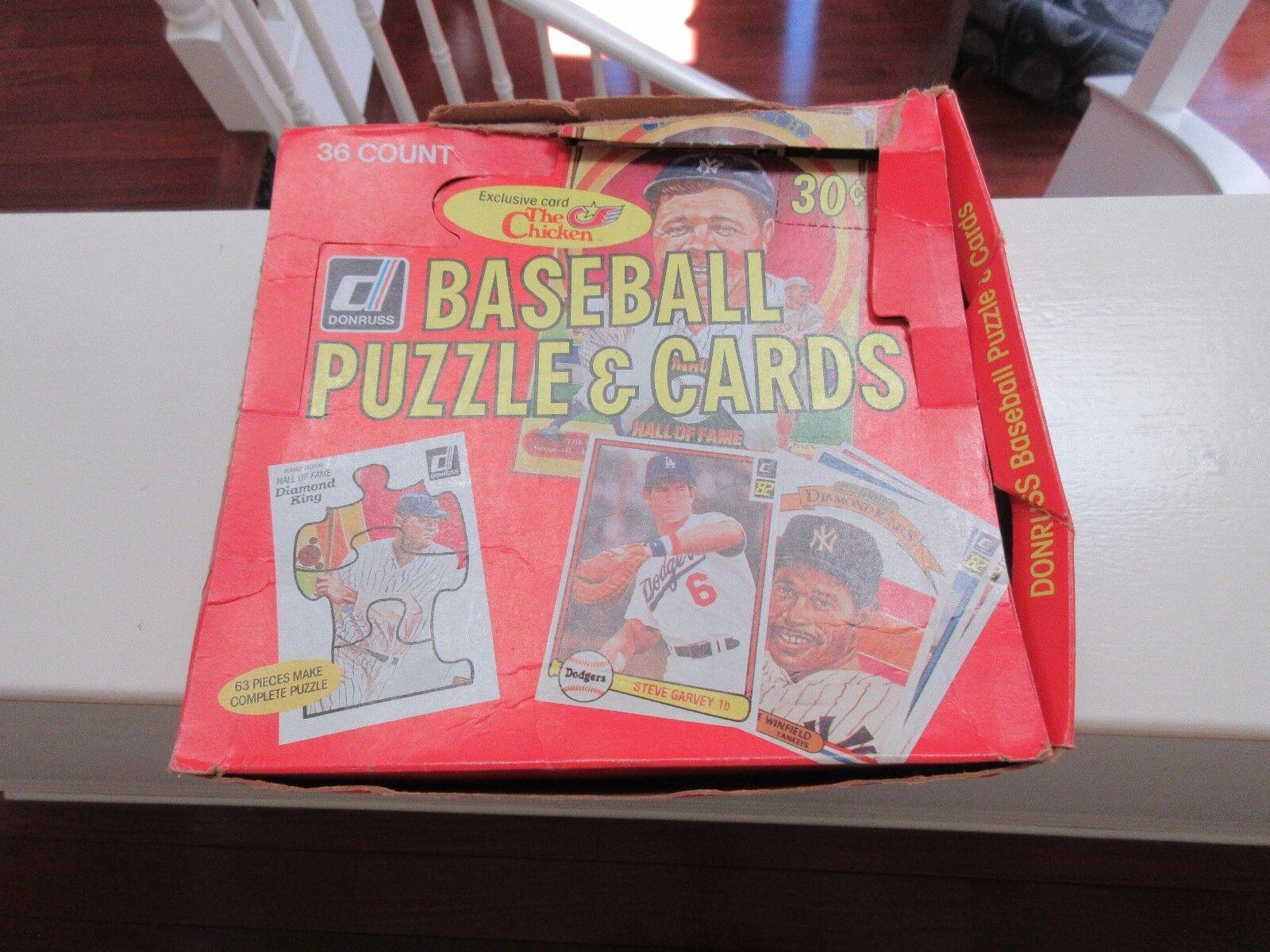 Donruss 1982 Baseball Cards , Topps 1981 Baseball Stick