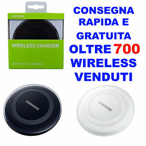 CARICABATTERIE-CHARGER-WIRELESS-PAD-SAMSUNG-ORIGINALE-per-GALAXY-S7-S6-NOTE-4-5