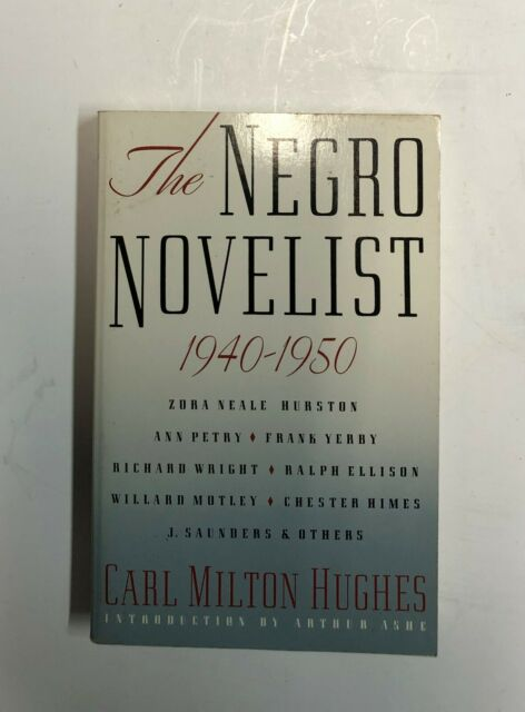 The Negro Novelist 1940 - 2950 Hughes Book Hurston Ellison Himes Petry