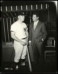 Mickey-Mantle-1959-Home-Run-Derby-Type-1-Original-Photo-PSA-DNA-Crystal-Clear