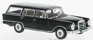Whitebox-WB207-Mercedes-230S-Estate-1967-Negro-1-43-Modelo-a-Escala-en-Caso-de