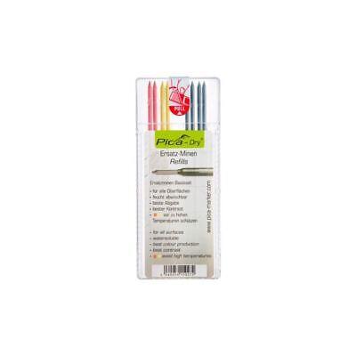 Romantico Pica Dry Pennarello/matita Ricarica Nero 4 X 2 X Giallo 2 X Rosso Confezione Da 8 4020- Squisita Arte Tradizionale Del Ricamo
