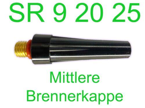 Burner Cap Medium sr9 sr20 SR 25 R-SR SR//WP//HP 9//20//25 TIG//Wig 41v35 Back Cap