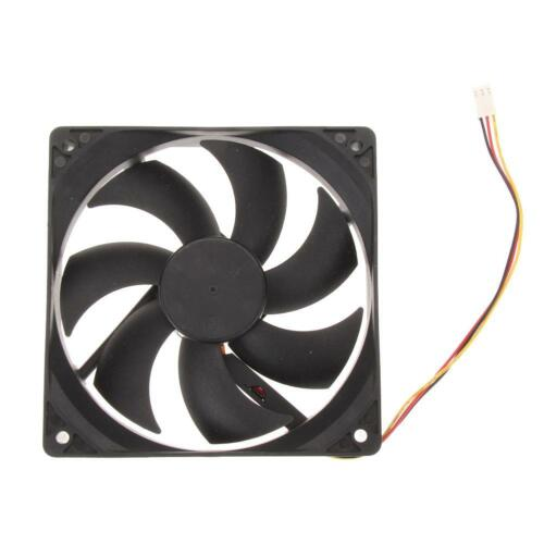 120x120x25mm DC 12V 0.30A 3Pin Universal Brushless PC Computer Case Cooling Fan