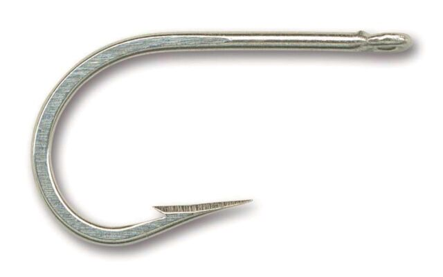 10 Mustad Big Game 7691DT Size 6//0 Southern and Tuna Hooks 7691DT-60 Duratin