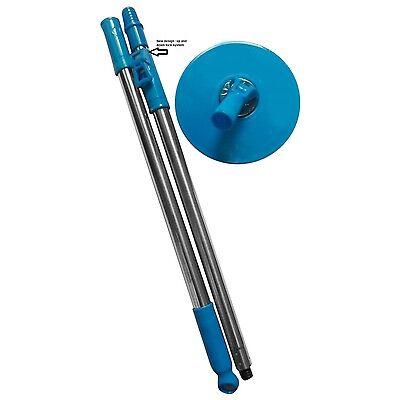 360 degree Magic Mop rotating Rod set steel rod set with dish ,best mop