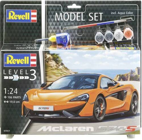 Revell 67051 McLaren 570S Automodell Bausatz 1:24