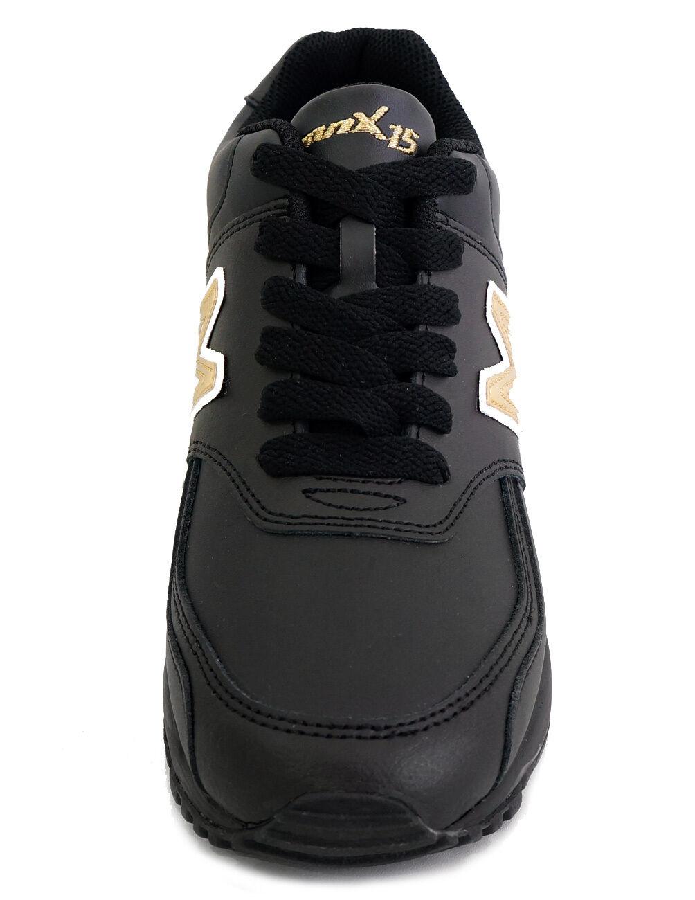 MNX15 Mujer Para Mujer MNX15 Zapatos Elevador Aron Negro Altura aumento 10cm por Fedex envío rápido 10f383