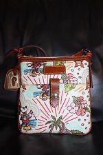 Dooney & Bourke Disney Aulani Minnie Mickey Purse Crossbody Bag Hawaii Ko OLina