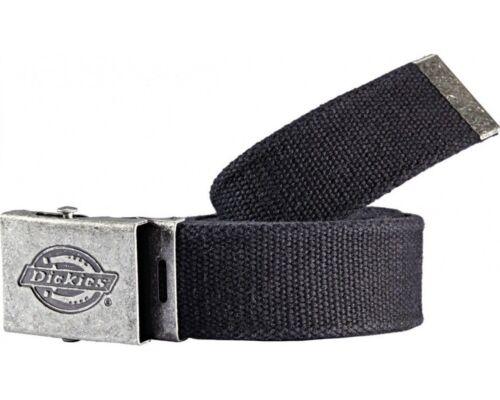 Dickies Canvas Belt Mens Fashionable Black Adjustable Work Belt BE500