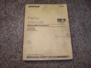 Caterpillar-Cat-836-Landfill-Compactor-7FR264-99C15000-Parts-Catalog-Manual