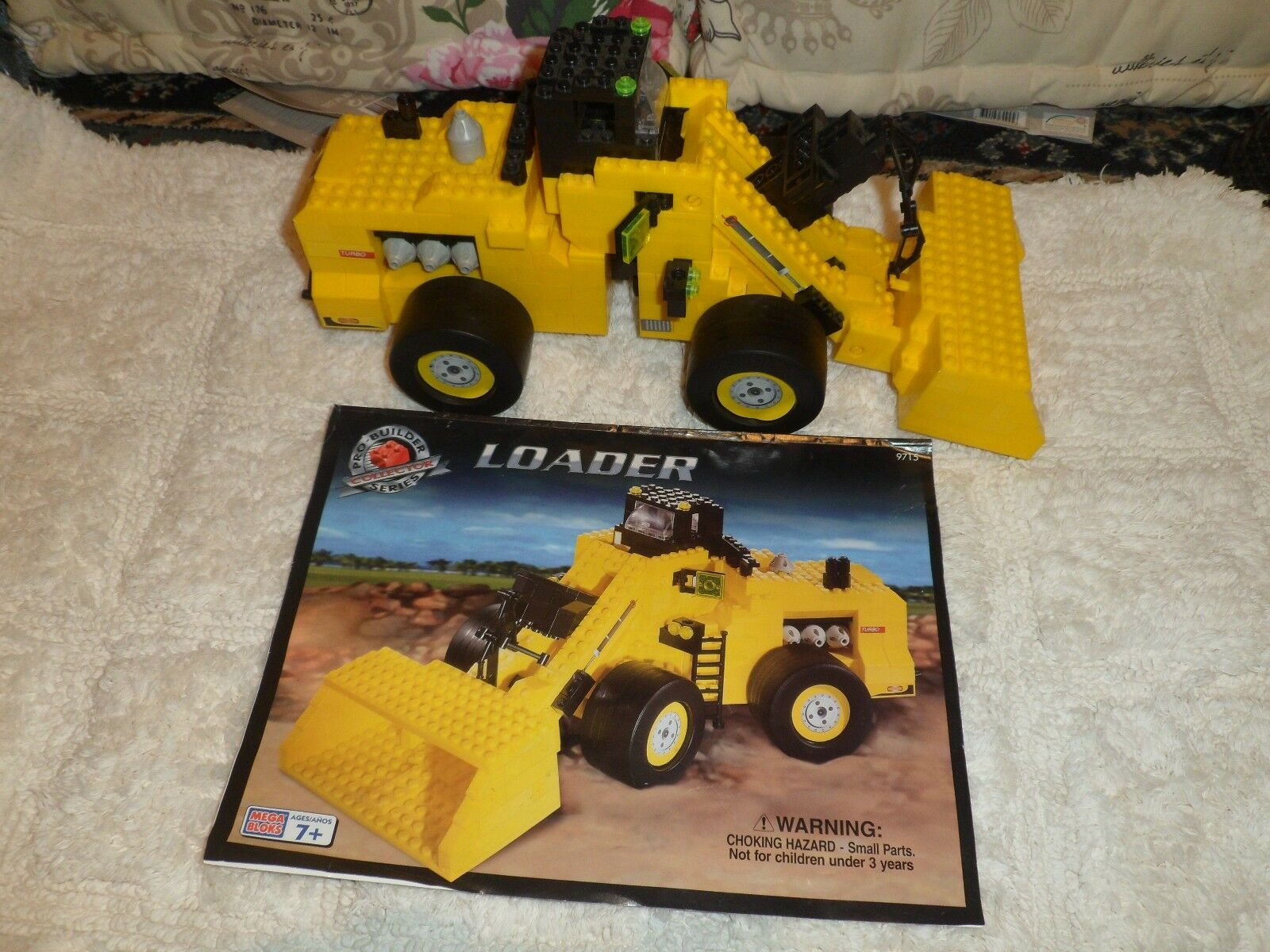 Rare, MEGA BLOKS PRO-BUILDER COLLECTOR SERIES - LOADER, 9715, from 2000, 7+